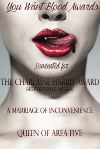 a-marriage-of-inconvenience-queen-of-area-five-the-charlaine-harris-award