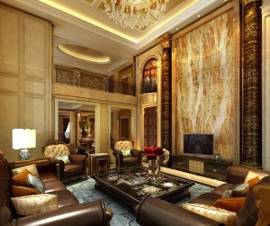 Design-European-luxury-villa-living-room